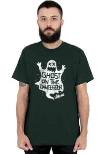 Camiseta 182Life Ghost On The Dancefloor Musgo