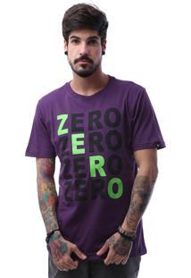 Camiseta Zero Four Roxo