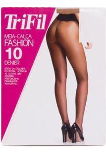 Meia Calça Fashion - Trifil - Feminino-Bege