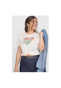 Camiseta Habana Sunny Side Off-White