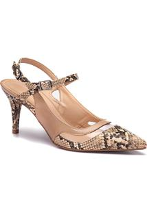 Scarpin Feminino Milano Olimpia L.Tan/Calf Light Tan 10675