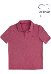 Camisa Polo Masculina Básica Em Malha De Algodão Fio A Fio