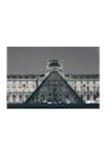 Painel Adesivo De Parede - Museu Do Louvre - Paris - 845Png
