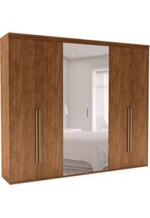 Guarda-Roupa Casal Com Espelho Originale 6 Pt 6 Gv Álamo 227 Cm