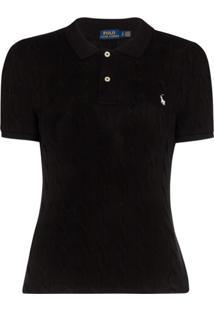 Polo Ralph Lauren Camisa Polo De Tricô - Preto