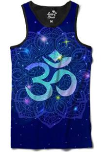de59fcbe6f876 ... Camiseta Regata Long Beach Ohm Mandala Florida Sublimada - Masculino -Preto