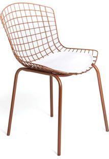 Cadeira Clint Estrutura Aço Carbono Pintura Epoxi Design Atemporal E Moderno Casa A Móveis