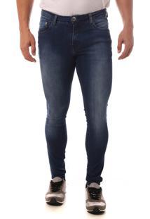 Calça Jeans Denuncia Super Skinny Azul