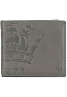 Gieves & Hawkes Carteira Com Logo Gravado - Cinza