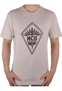 Camiseta Mcd More Core Division - Masculino-Bege