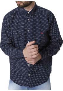 Camisa Manga Longa Mx72 Azul