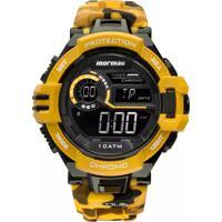 5fa441661f9b2 Relógio Mormaii Digital Acqua Mo11348L Amarelo Camo