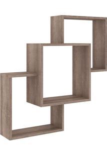 Nicho Composto- Rãºstico- 84X78,4X20Cm- Movel Benmovel Bento
