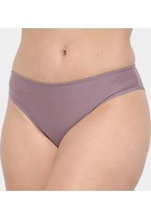 Calcinha Tanga Marcyn Quênia Plus Size - Feminino-Violeta