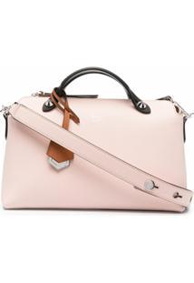 Fendi Bolsa Tiracolo Box - Rosa