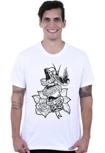 Camiseta Hardivision Água Que Passarinho Não Bebe Manga Curta - Masculino
