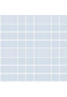 Papel De Parede Coleção Bim Bum Bam Azul Branco Xadrez 2243 Cristiana Masy