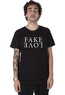 Camiseta Longline Stoned Gold Fake Love Masculina - Masculino