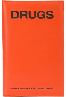 Raf Simons Clutch 'Drugs' - Vermelho
