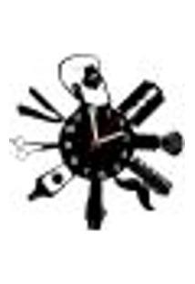 Relógio De Parede Decorativo - Modelo Barbearia