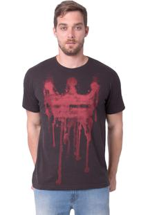 Camiseta Royal Brand Bleed Preta