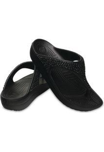 ef65290398 ... Chinelo Crocs Sloane Embellished Flip Feminino - Feminino