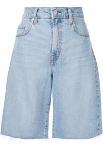 Nobody Denim Short Jeans Frankie - Azul
