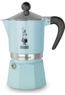 "Cafeteira Rainbow - Azul Clara €"" Bialetti - Azul - Dafiti"