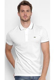 Camisa Polo Lacoste Piquet Slim Masculina - Masculino