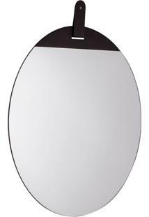 Espelho Decorativo Bart 50 X 50 Preto