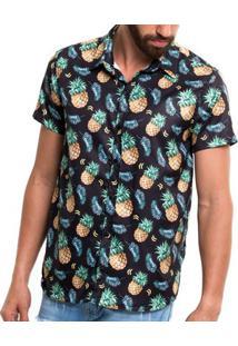 Summer Shirt - Pineapple