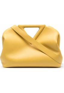 Bottega Veneta Bolsa Tote The Triangle - Amarelo