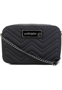 Bolsa Petite Jolie Mini Bag Nic Feminina - Feminino-Preto