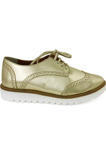 Oxford Feminino Milano Ouro Light 8857