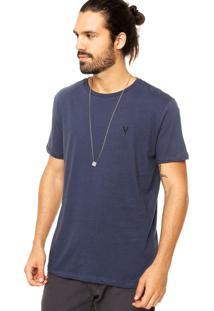 Camiseta Vr Básica Azul