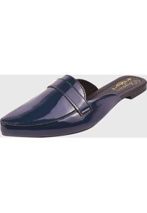Moule Estilo Italiano Elegance Calçados Verniz Marinho