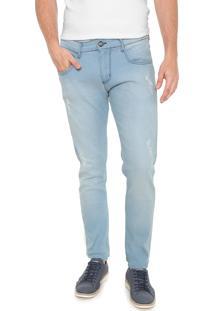 Calça Jeans Forum Skinny Igor Azul