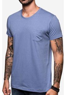 Camiseta Básica Azul 103288