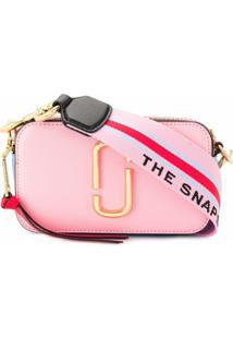 Marc Jacobs Bolsa Transversal Snapshot - Rosa