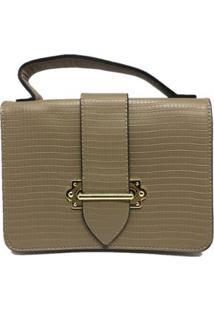 Bolsa Casual Sys Fashion 8536 Feminina - Feminino-Bege