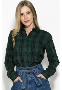 8465a7298 Camisa Colcci Xadrez feminina