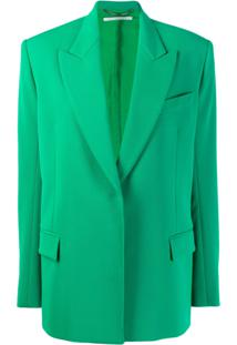 Stella Mccartney Blazer Clássico - Verde