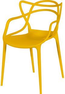 Cadeira De Jar Solna Or-1116 – Or Design - Amarelo