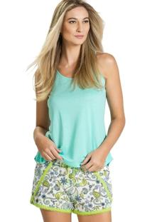 Pijama Inspirate Curto Arabesco - Feminino