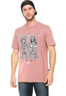 Camiseta ...Lost Nudes In Paradise Rosa
