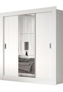 Guarda-Roupa Casal Luiza 3 Pt 2 Gv Com 1 Espelho Branco