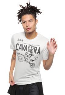 Camiseta Cavalera Rider Cinza