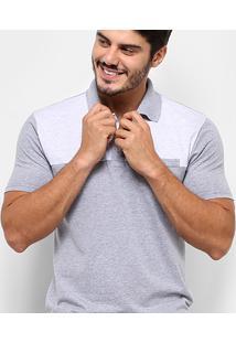 Camisa Polo Burn Casual Bolso Masculina - Masculino