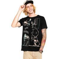 34042bd9d2 Camiseta Snoopy masculina
