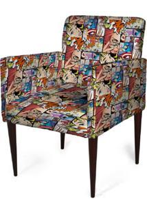 Cadeira Decorativa Mademoiselle Plus Imp Digital (2 Peças) Imp Digital 104 Comics